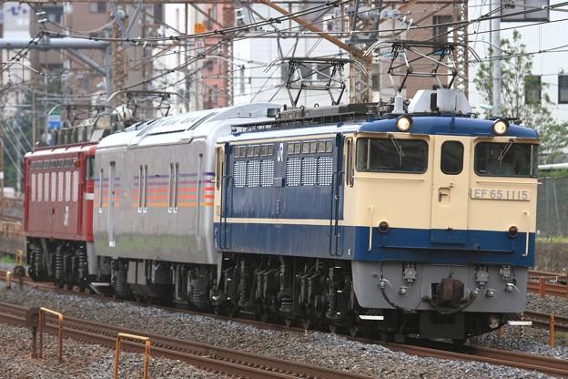 試9501レ EF65 1115+カヤ27-501+EF81 139