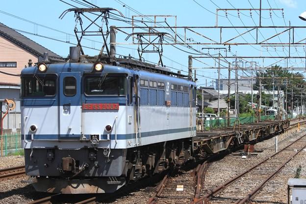 配8791レ EF65 2083+コキ