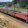 9629レ EF81 81+12系 7両+EF64 1051