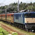 Photos: 回9630レ EF64 1051+12系 7両+EF81 81