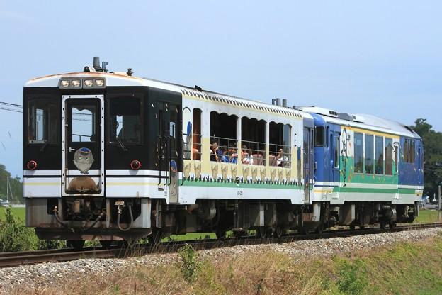 9307D 会津鉄道AT-351+AT-401