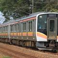 Photos: 440M E129系新ニイA25+B6編成 6両