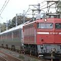 Photos: 試9502レ EF81 81+E26系 12両