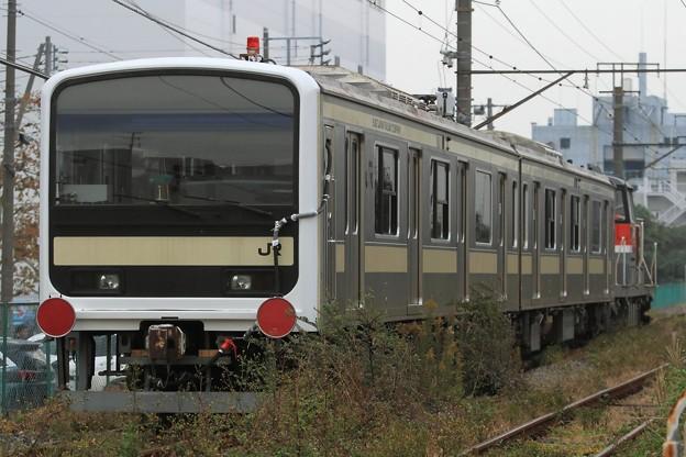 9670レ DE10 1662+209系訓練車 2両