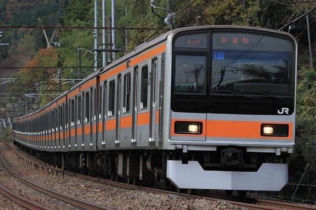 試9544M 209系八トタT81編成 10両