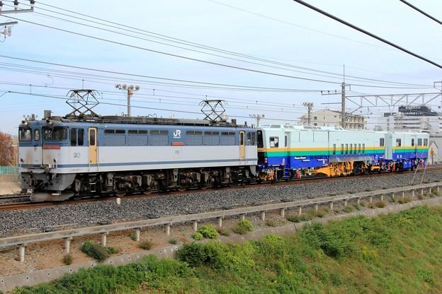 9173レ EF65 2084+Plasser&Theurer 09-16/CST