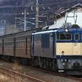 Photos: 回9132レ EF64 1001+旧型客車 4両+D51 498