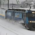 Photos: 9788レ EH200 21+関東鉄道キハ5021+キハ5022