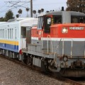 Photos: 9771レ DE10 1749+関東鉄道キハ5021+キハ5022