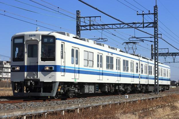 試7243レ 東武8000系8506F 2両