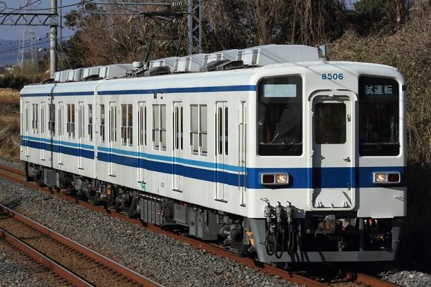 試7244レ 東武8000系8506F 2両