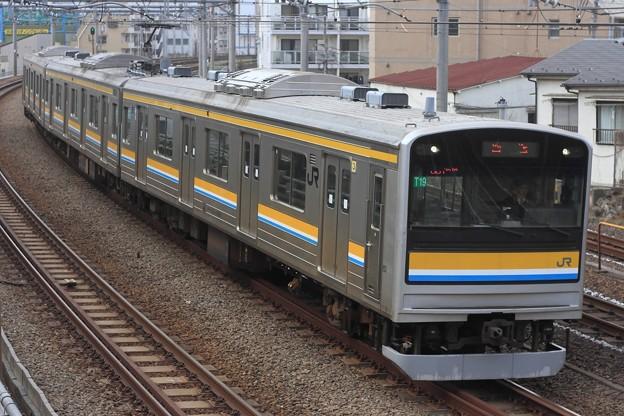 回8875M 205系横ナハT19編成 3両