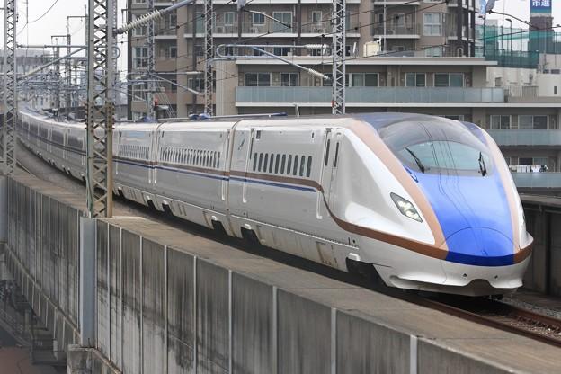 612E W7系金ハクW9編成 12両