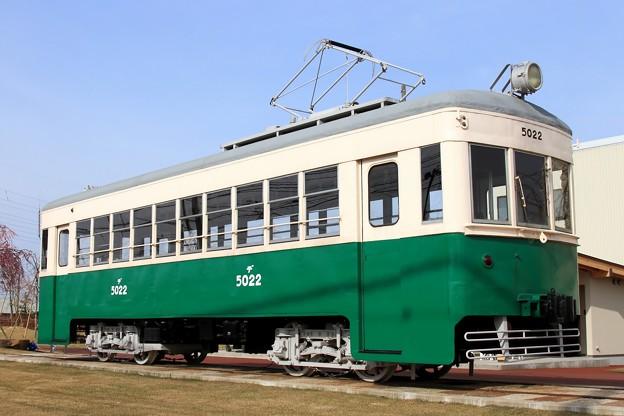 富山地鉄デ5010形 デ5022号車