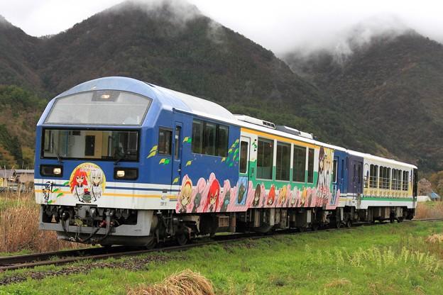 9308D 会津鉄道AT-401+AT-351