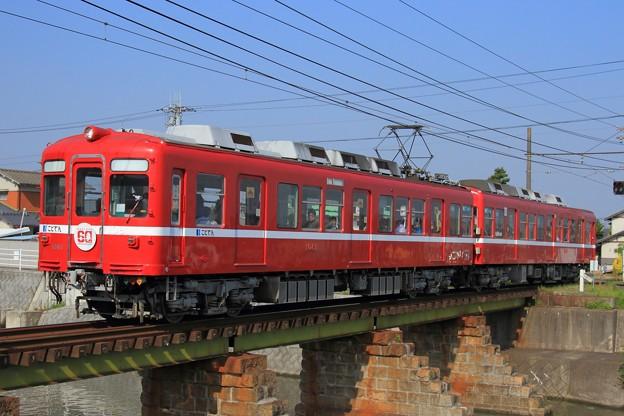 2211レ 高松琴平電鉄1080形1081F 2両