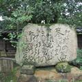 深大寺境内の「歌碑」