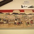 Photos: 東京名所之内銀座通煉瓦鉄道馬車往復図(複製)