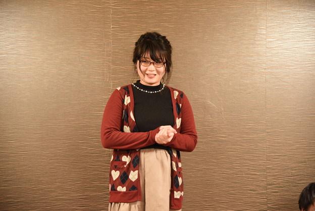 山田さんの挨拶