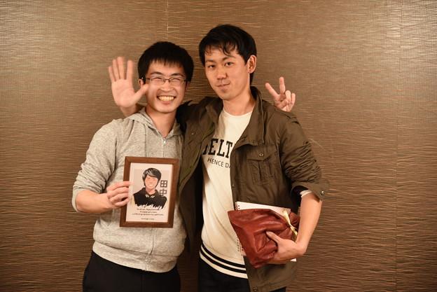 田中さんお世話になりました