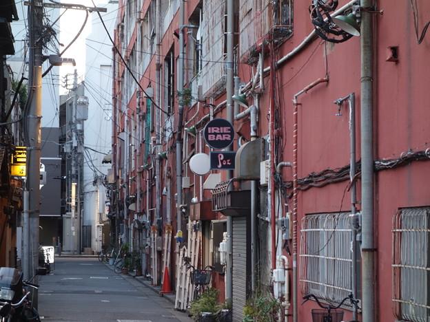 吉田商店街の裏 (横浜市中区吉田町)