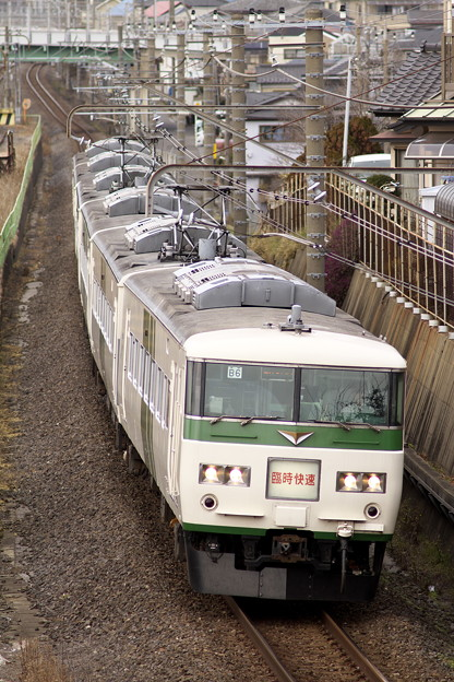 _MG_1030_SILKY 185系 謎の快速 「成田山初詣横須賀号」