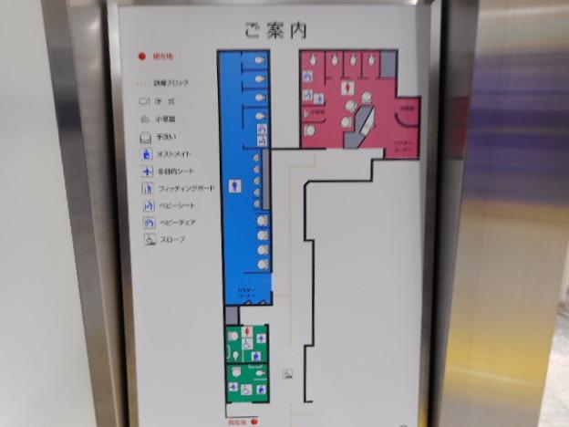 052りんかい線天王洲アイル駅トイレ案内図