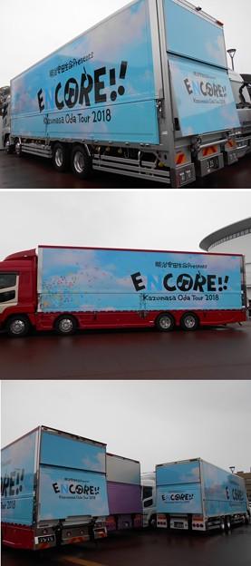 05/19 小田和正ツアー「ENCORE!!」函館一日目 ツアートラック