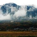 曇り時々雨・筑波山