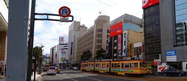 写真: 東急ハンズ広島店前から八丁堀交差点方向 広島市中区八丁堀 相生通り