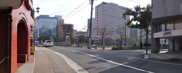 京橋 西詰 広島市中区橋本町 京橋通り