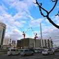 城南通り駅前大橋南詰から広島駅南口Bブロック 広島市南区京橋町 2015年2月3日