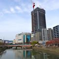 荒神橋から広島駅南口Bブロック方向 2015年11月21日