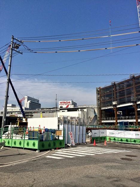 Photos: 広島駅南口Bブロック 猿猴橋北詰から広島駅 2014年4月1日