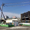 広島駅南口Bブロック 猿猴橋北詰から広島駅 2014年4月1日