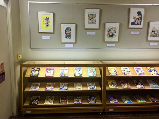 ズッコケ三人組40周年展示 複製原画 広島市中区基町 広島市こども図書館 2018年4月8日