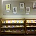 写真: ズッコケ三人組40周年展示 複製原画 広島市中区基町 広島市こども図書館 2018年4月8日