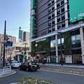 写真: 広島電鉄 猿猴橋町電停 広島市南区猿猴橋町 広島駅南口Bブロック 2018年4月28日