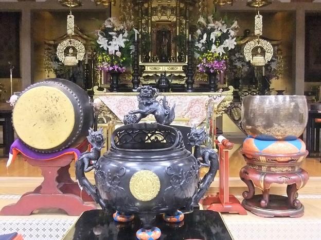 法現寺 Buddhist temple Buddhism 広島市南区段原日出2丁目 2011年11月3日