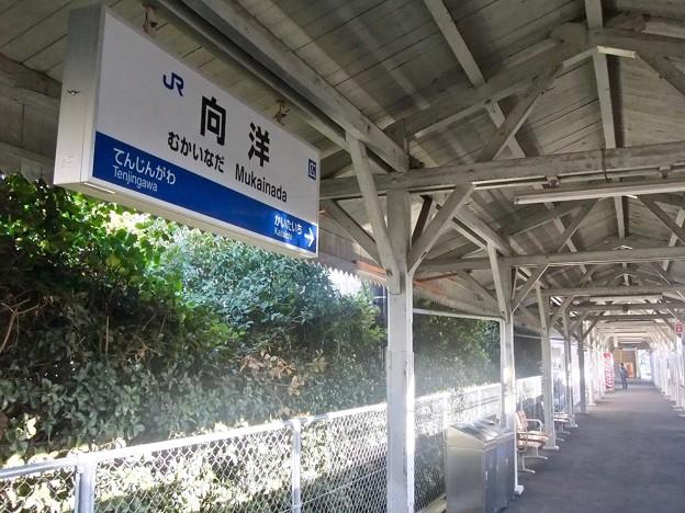 向洋駅 ホーム 安芸郡府中町青崎南 2011年11月20日
