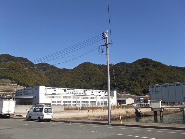 備後みかん共同選果場 三原市糸崎南2丁目 2011年11月22日