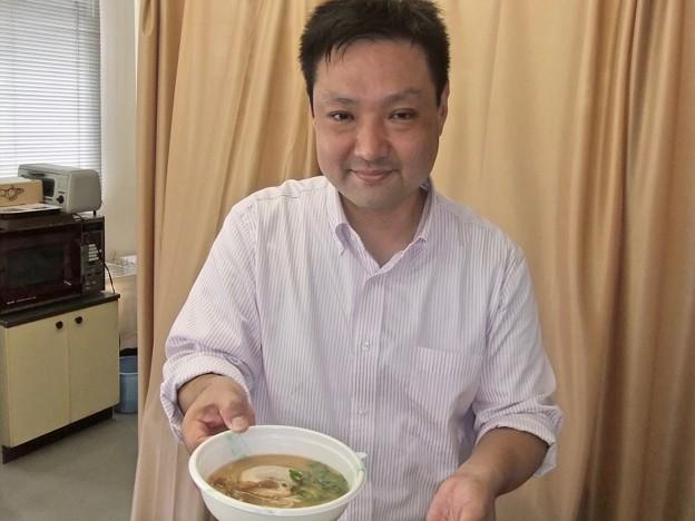 うすい中華 碓井雄二さん 広島市東区矢賀6丁目 2011年10月18日