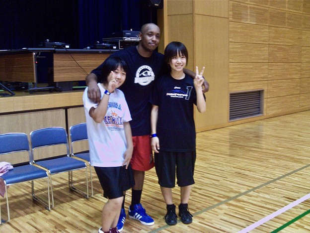 Andre Murray Vancouver Volcanoes 山県郡北広島町都志見 豊平総合体育館 2011年8月7日