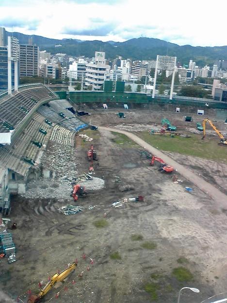 旧広島市民球場 広島市中区基町 2011年9月18日
