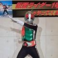 Photos: 仮面ライダー1号 本郷猛 Kamen Rider 広島市中区紙屋町2丁目 サンモール 2012年6月24日