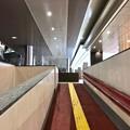 Photos: 広島駅 新幹線口 地下自由通路 スロープ  広島市南区松原町 2018年5月12日
