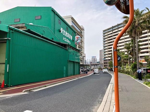 新生倉庫運輸 広島中央 トランクルーム 広島市南区西蟹屋3丁目 2018年5月27日