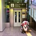 写真: 広島駅 南口 南北自由通路 エレベーター 広島市南区松原町 2018年5月27日