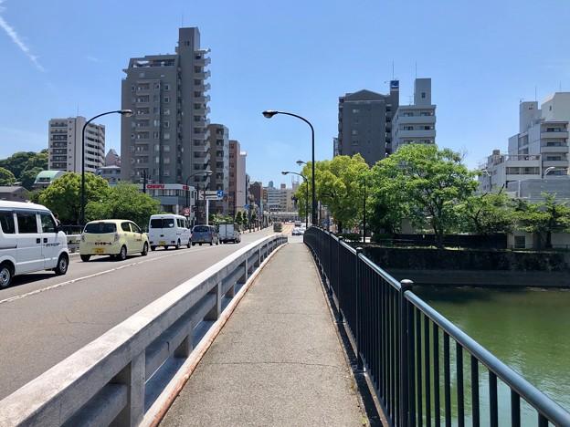 大正橋 広島市南区西蟹屋1丁目 - 的場町2丁目 段原3丁目 2018年6月4日