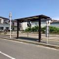 写真: 音戸市民センター バス停 呉市音戸町南隠渡1丁目 2018年6月9日